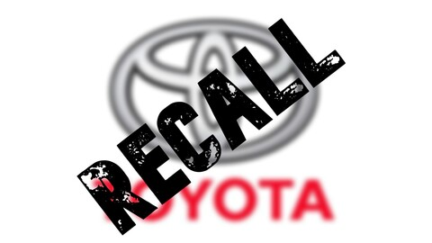 Recall global de Toyota:  5.8 millones de vehículos afectados