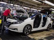 Nissan Leaf 2018 comienza producción en Japón