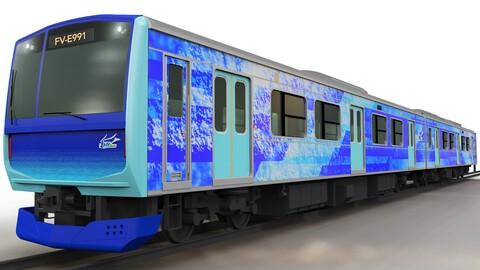Toyota e Hitachi desarrollarán en conjunto un tren eléctrico de hidrógeno