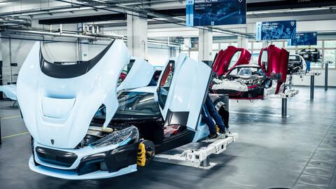 El Rimac C_Two, el superdeportivo eléctrico, ya comenzó a fabricarse