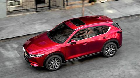 Más equipamiento para Mazda CX-5