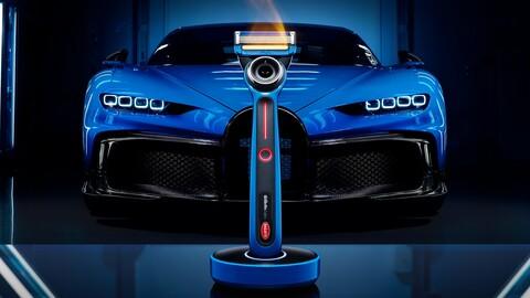 Esta máquina de afeitar eléctrica está inspirada en el Bugatti Chiron