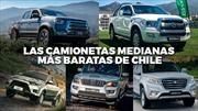 Top 10: Las camionetas medianas más baratas en Chile