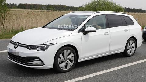 Volkswagen Golf Variant 2021: Sin disfraz
