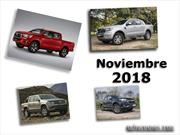 Top 10: Las pick-ups más vendidas de Argentina en noviembre de 2018