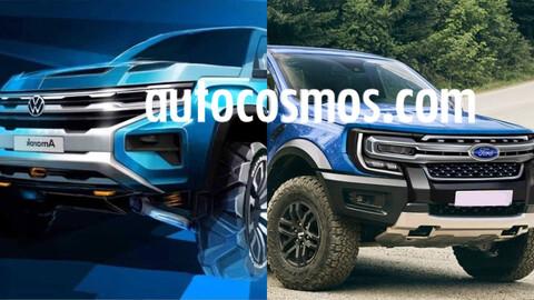 Nueva Ford Ranger tendrá posicionamiento distinto a nueva Amarok