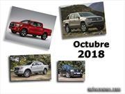 Top 10: Las pick-ups más vendidas de Argentina en octubre de 2018