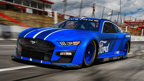 NASCAR: Así son los nuevos Ford Mustang y Toyota Camry