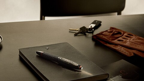 Montblanc y Pirelli llevan el arte de escribir a otro nivel