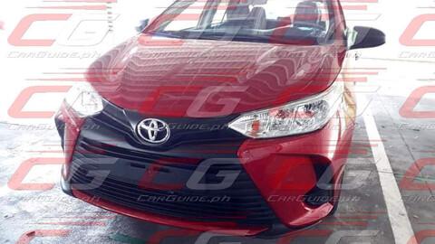 Espían a la renovación del Toyota Yaris