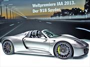 Michelin proveerá al Porsche 918 Spyder Híbrido