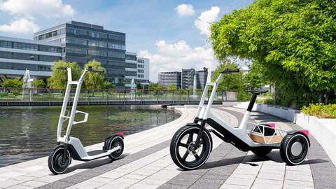 BMW presenta un par de nuevas propuestas de movilidad