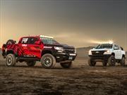 Chevrolet Colorado ZR2 AEV concept y Colorado ZR2 Race Development Truck, dos pickups superiores