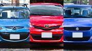 Suzuki Swift aut vs Toyota Yaris aut vs Mazda2 aut