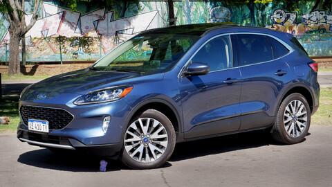 Ford Kuga Titanium se lanza en Argentina