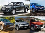 Top 5 las pick-ups más vendidas en abril de 2015