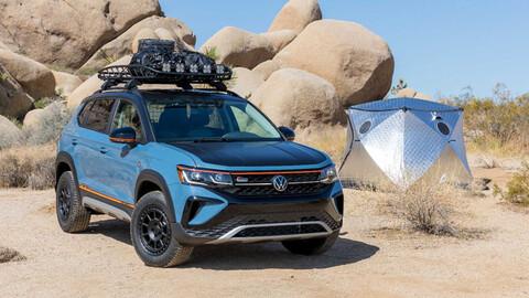 Volkswagen Taos Basecamp, listo para la aventura