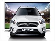 Hyundai Creta World Cup, una edición especial con pantalla de… ¡50 pulgadas!