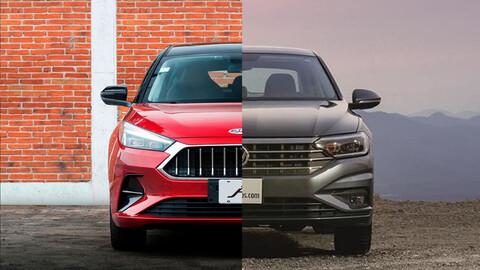 Volkswagen Jetta vs JAC J7, ¿el contendiente chino puede con el rey de los sedanes?