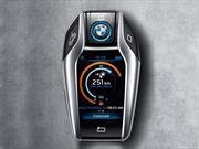 Así es la súper llave inteligente del nuevo BMW i8