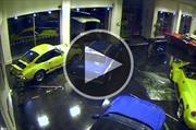 Roban un exótico Ford Escort México en menos de 40 segundos