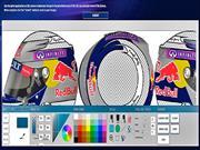 Diseña el casco del piloto de Fórmula 1 Sebastián Vettel