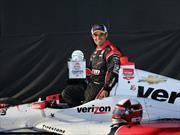 Juan Pablo Montoya empezó con todo en la IndyCar 2015