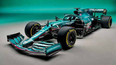 Aston Martin AMR21 trae de regreso a la F1 2021 el mítico British racing green