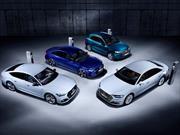 Audi muestra un pelotón de híbridos enchufables