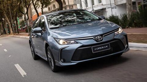 Toyota Corolla suspende su producción en Brasil por la falta de chips