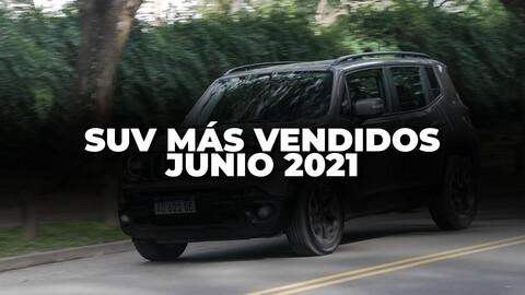 Los SUV más vendidos de Argentina en mayo de 2021