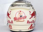 F1: El casco de Vettel desnuda a una chica