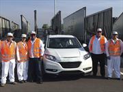 Primer embarque de la Honda HR-V sale de México