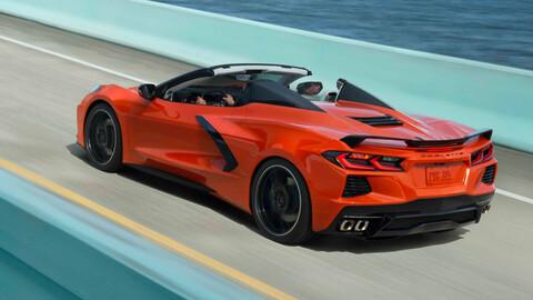 Chevrolet Corvette Convertible 2021 llega a México, la faceta más sexy del deportivo americano