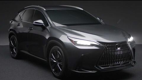 El nuevo Lexus NX 2022 se filtra por completo