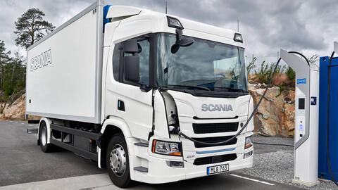 Un corredor con tendido eléctrico aéreo podría extender la autonomía de los camiones a batería