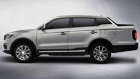 Geely Yuancheng FX, pickup derivada de SUV con diseño singular