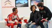 Loeb, Campeón de Rally con Citroën y actor