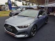 El Hyundai Veloster Turbo se dejó ver por primera vez en Argentina