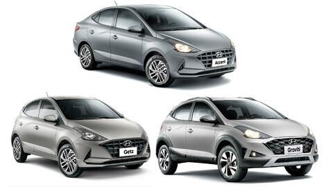 Hyundai HB20 llega en tres sabores