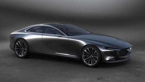 Mazda anuncia 13 nuevos modelos electrificados para 2025 y el motor 6 en línea