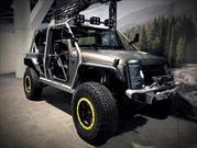 Jeep Wrangler Hellbender por Alpine, el último grito de la moda todoterreno