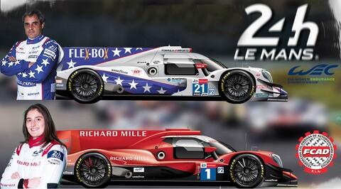 Tatiana Calderón y Juan Pablo Montoya clasificaron para las 24 Horas de Le Mans