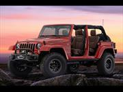 Jeep Wrangler Red Rock Concept, para el 50 aniversario del Easter Jeep Safari