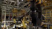 Hyundai presenta el ballet de sus robots ensambladores