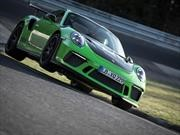 Video: Porsche 911 GT3 RS la rompe en Nürburgring
