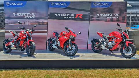 Italika presenta la renovación de gama Vort-X