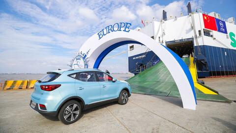 SAIC tiene la meta de exportar 1.5 millones de autos al mundo en 2025