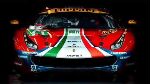 Ferrari avanza con su programa Le Mans Hypercar
