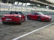 Porsche 718 Boxster y Cayman GTS 2018 debutan